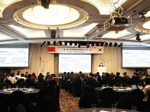 """""""一带一路""""综合服务能力建设论坛在首尔召开"""