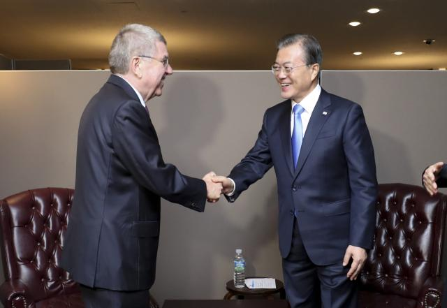 文在寅请求国际奥委会支持朝鲜和韩国联合申办2032年奥运会