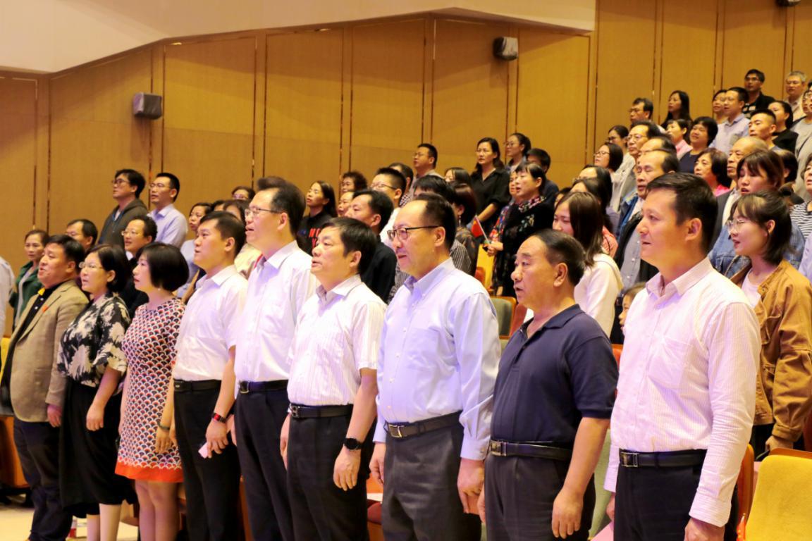 """致公党陕西省委会举办""""我和我的祖国""""文艺演出"""
