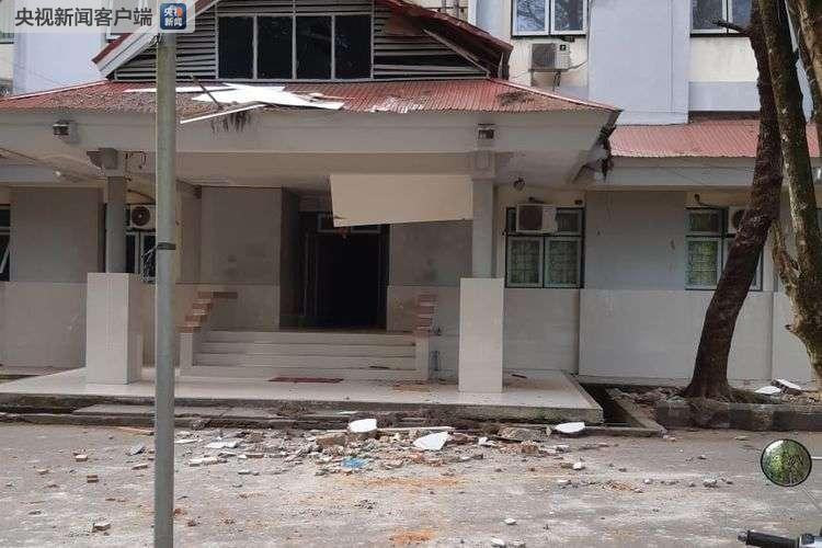 印尼马鲁古安汶地震已造成23人死亡