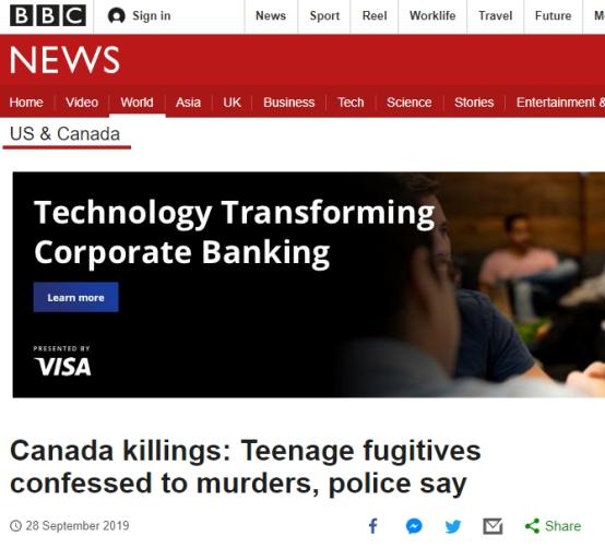 加拿大一起杀人案调查结果公布:凶手已自杀,生前视频称想要杀更多人