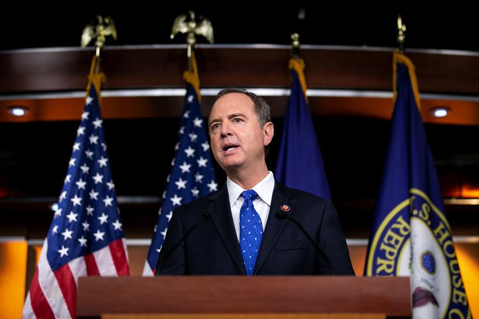 美众院情报委员会主席:国会决心获取特朗普与普京等人的通话记录