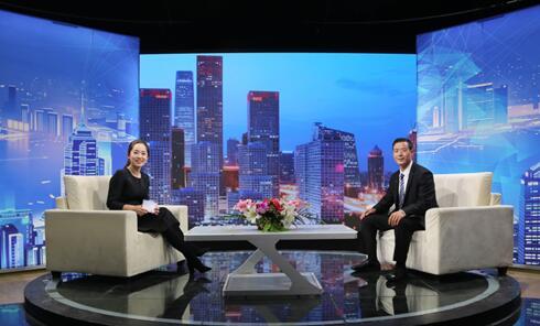 """""""东方顺海工贸""""董事长做客王顺海《信用中国》"""