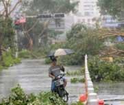 国庆假期台风携风雨扰华东