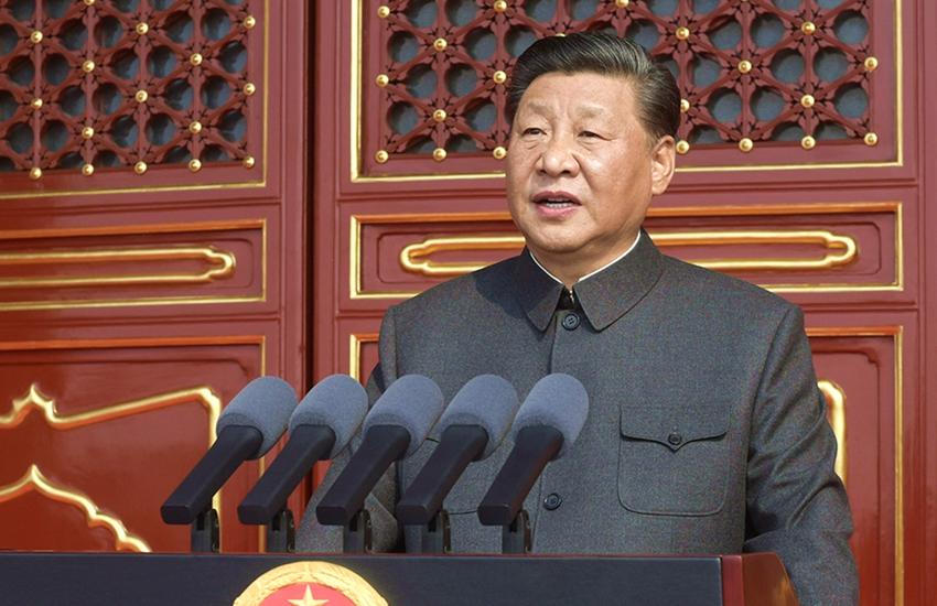 习近平出席庆祝中华人民共和国成立70周年大会