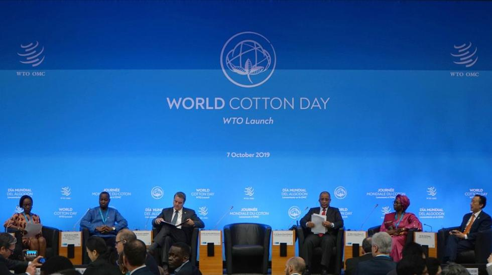 """世界贸易组织举办首次""""世界棉花日活动"""""""