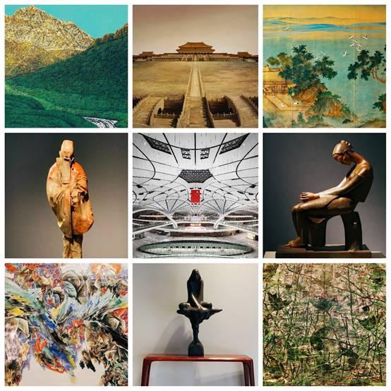 以文化彰显自信,用艺术打动人心——北京大兴国际机场艺术品陈设解析
