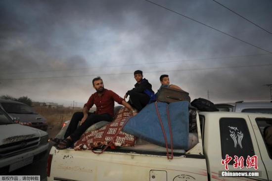 伊拉克总统:土耳其对叙北部的进攻或助长恐怖主义