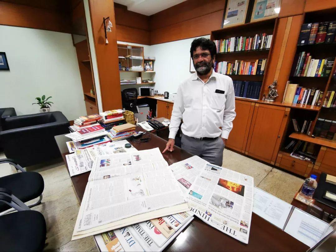 印度百年大报:习主席来访,就是头条!