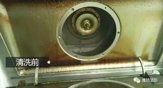 厨房必备的它,若不及时清洗,易引发火灾!
