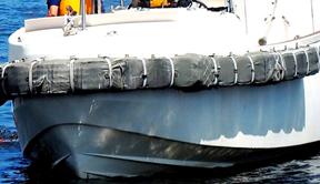 载中国船员货船在日本近海沉没