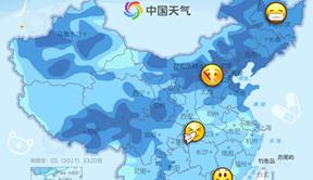 全国感冒预警地图出炉!