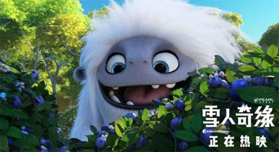 《雪人奇缘》全球票房突破1亿美金 国内票房破亿