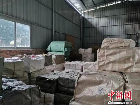 跨多省造假货 浙江苍南公安查获假冒白酒包材12.7万余件