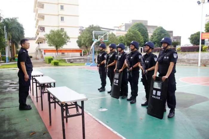 宁明边境管理大队 开展反恐应急处置演练