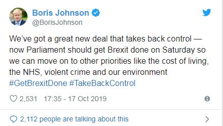 """刚刚,英国与欧盟达成""""脱欧""""协议"""