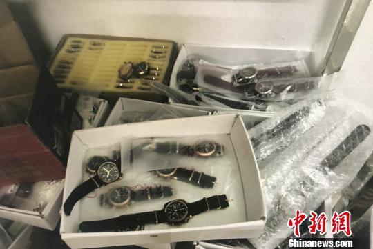 广州侦破假冒国际名牌商标案 涉案金额600万元