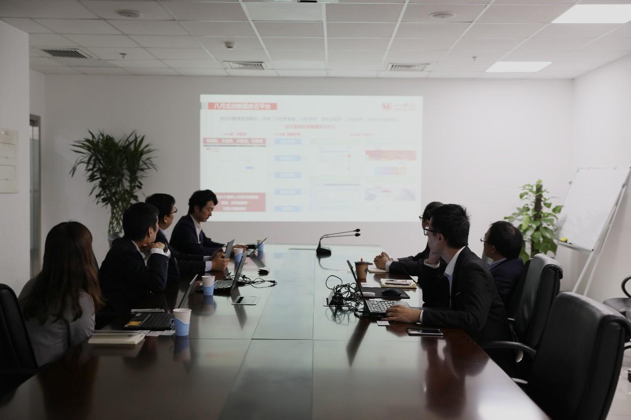 <b>日本技术贸易株式会社代表一行到八月瓜调研交流</b>