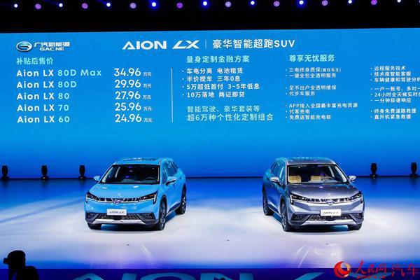 向移动出行服务转型广汽新能源AionLX上市