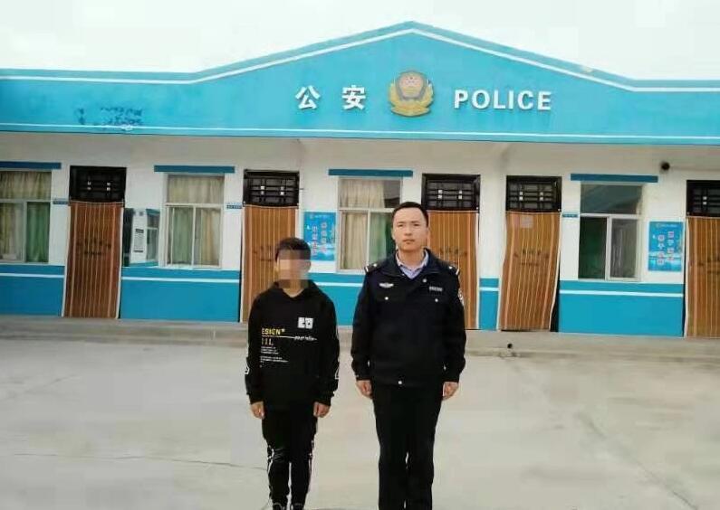陕西渭南一男子夜间入室盗窃被抓获