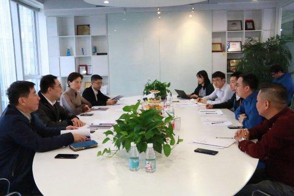 共建在线教育明天 上海闵行区领导莅临一起教育科技考察