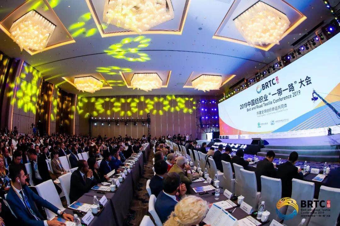 """中国纺织业为""""一带一路""""深度融合注入新能量"""