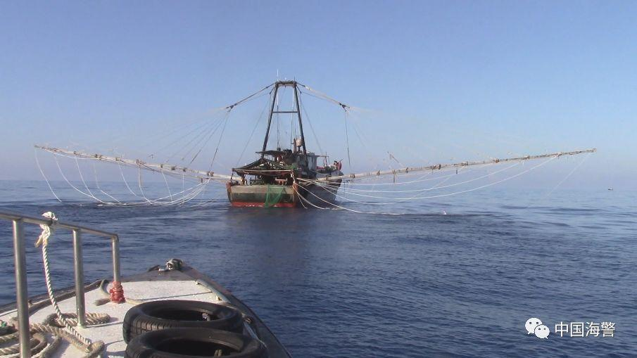 打击非法捕捞 汕尾海警查处多起非法捕捞案件