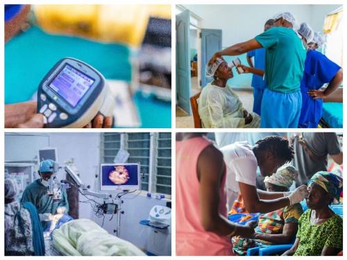 """豪迈""""光明的礼物""""公益活动 成功资助加纳 8000 例视力手术"""