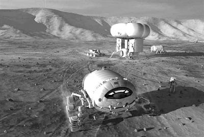 深空辐射、微重力、幽闭空间 火星之旅危险知多少