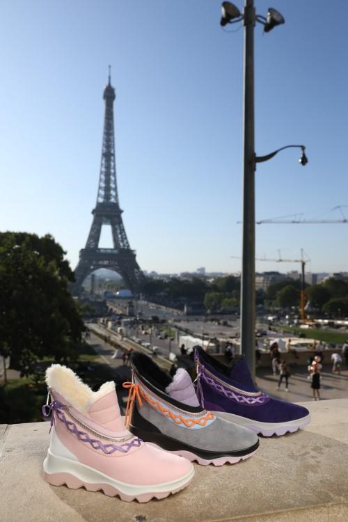 不惧挑战 COZYSTEPS联名法国顶级设计师用精致时尚重新定义雪地靴