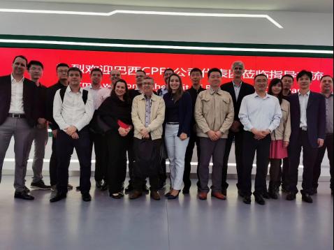巴西CPFL访问国内首个无人机机场输电应用示范点