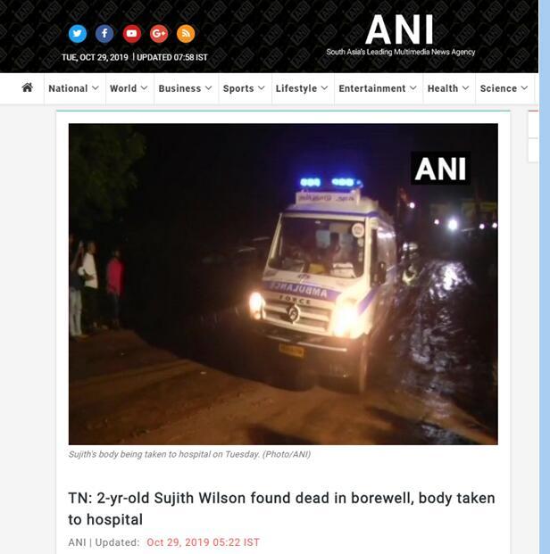 心碎!印度2岁男童被困深井引莫迪关注,超80小时救援仍死于井下