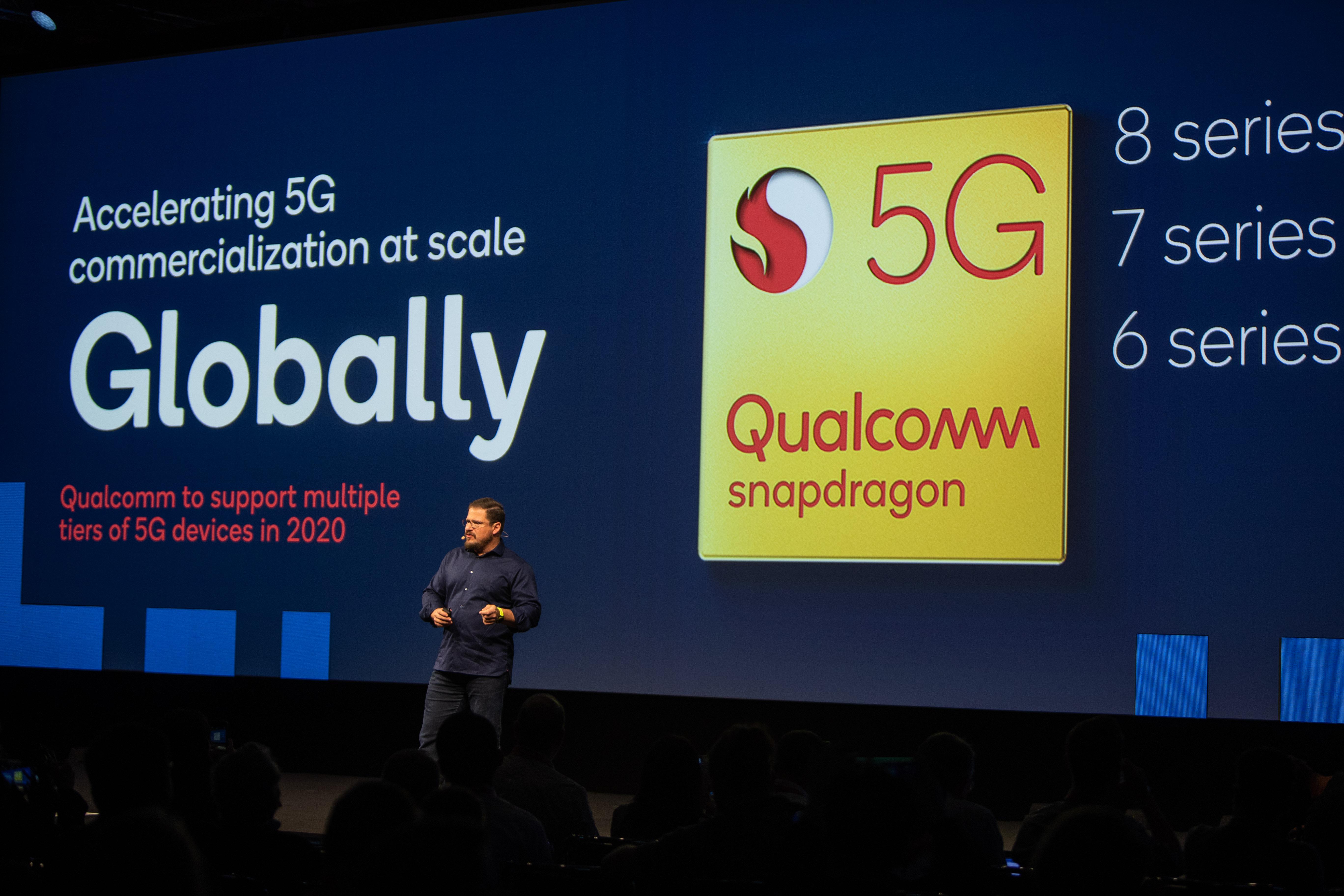 阿蒙:高通的愿景是让5G惠及更广泛的消费者和产业