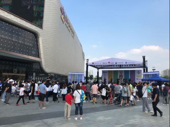 清道蘑菇火爆亮相第14届韩民族文化节