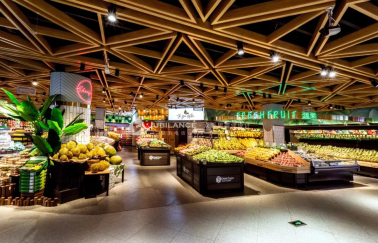 <b>众派思超市设计案例-邻里优选滟澜洲店盛大开幕</b>