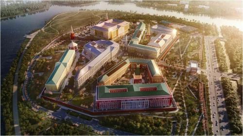 """""""高颜值""""欧洲小镇怎样造?立邦通体砂胶体系打造华为苏州研发中心"""