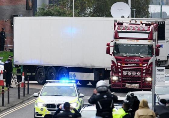 英驻越大使谈货车惨案:警钟已敲响 应防止悲剧再发生