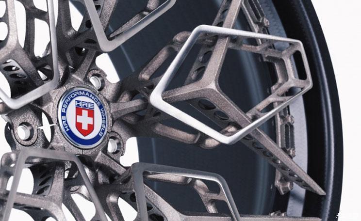 使用3D打印车轮 迈凯伦P1将跑得更快