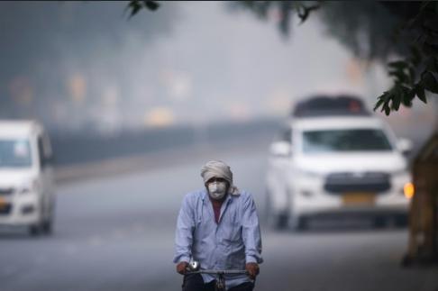 """印度空气污染持续,泰姬陵获""""专属待遇"""":室外空气净化器已部署"""
