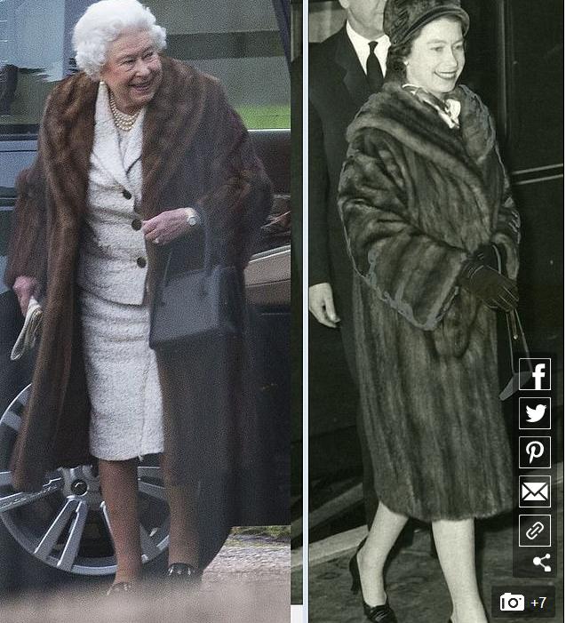 英国王室禁用皮草?英媒曝女王私服将只采用人造皮草