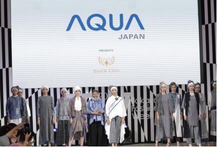 """""""随手拍""""海尔:AQUA印尼参加雅加达时装周"""