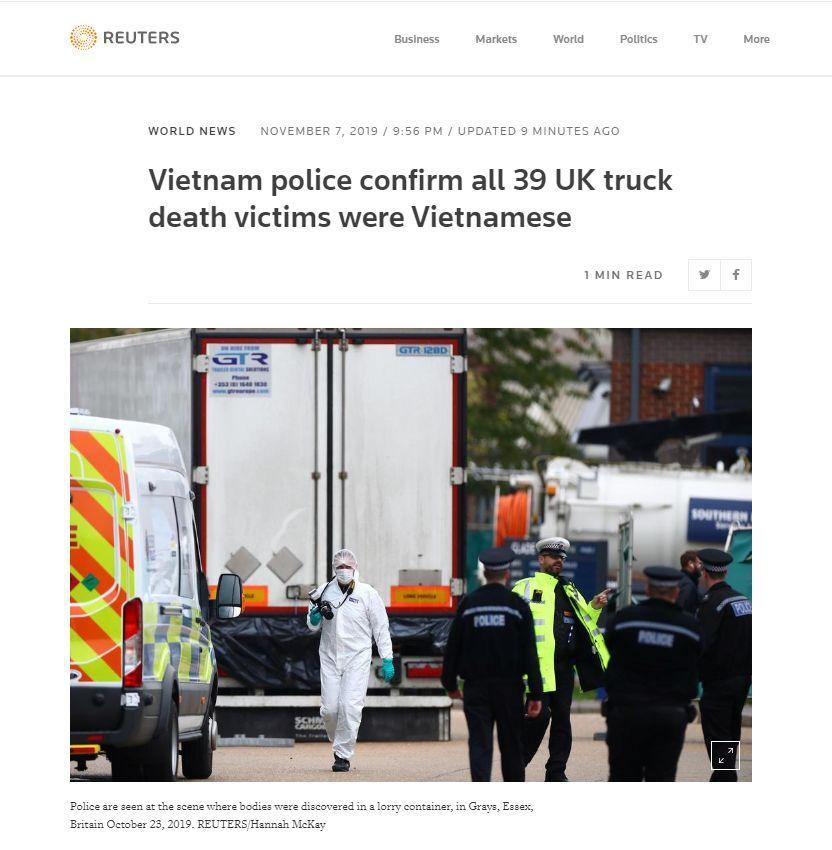 越南公安部确认:都是越南人。