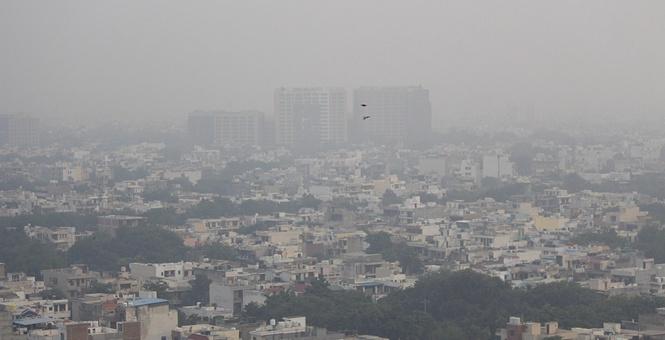 印度空气污染严重 逾80名农民因非法焚烧秸秆被捕