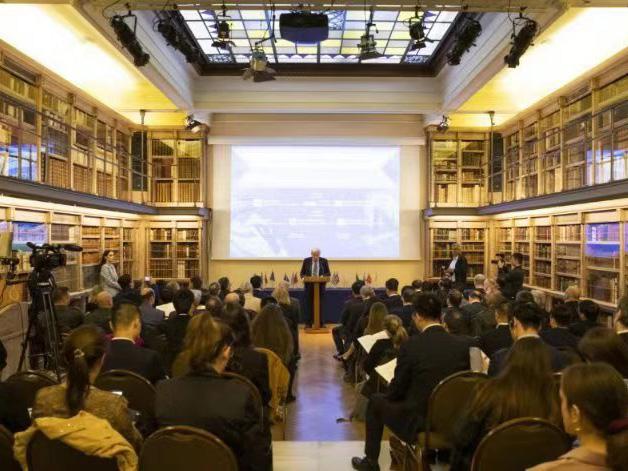 """""""一带一路""""建设高质量发展与中希关系研讨会在希腊召开"""
