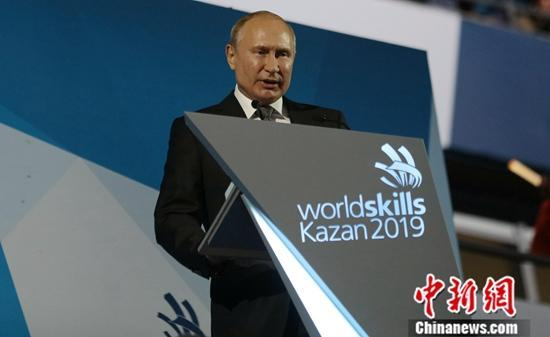 俄总统普京称已接种流感疫苗 希望政府官员效仿