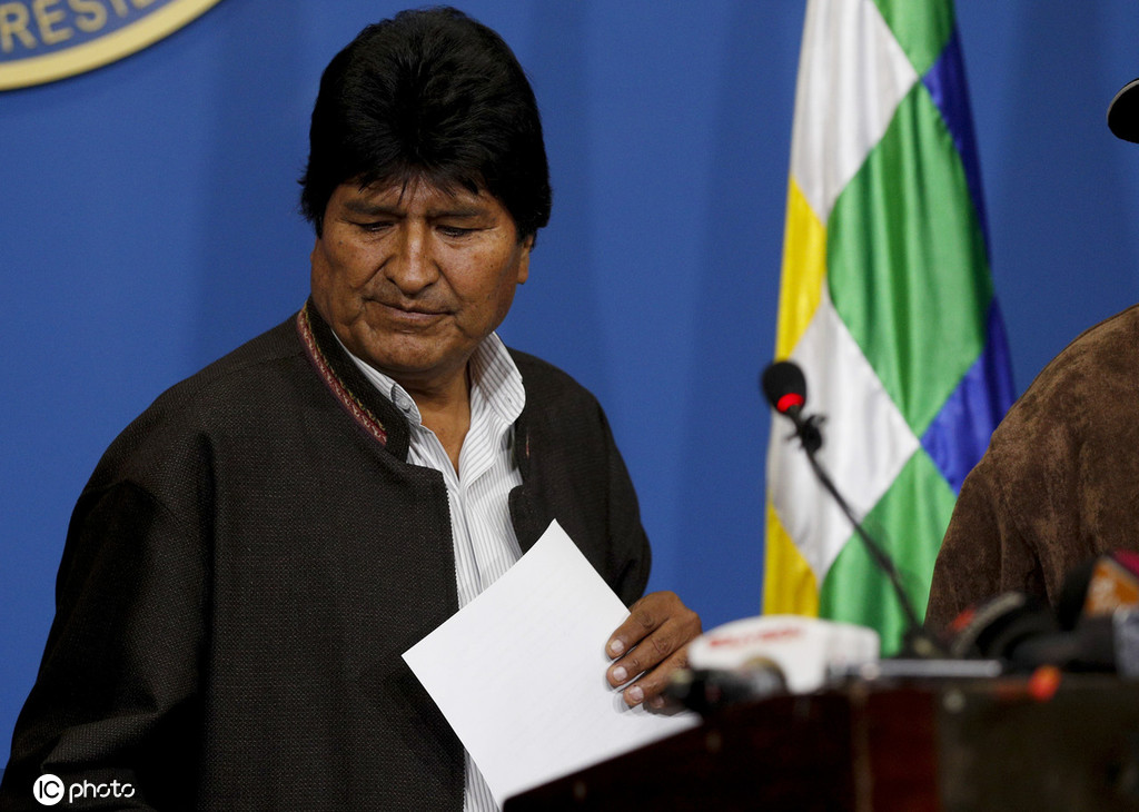 从原住民到左翼偶像,莫拉莱斯14年执政结束