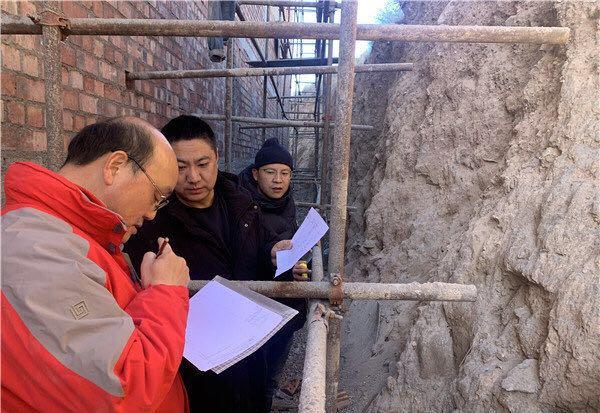 青海施工现场发现古老壁画 故宫专家:系青海最早藏传佛教壁画