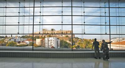 习近平主席参观雅典卫城博物馆特写——倾听历史的诉说