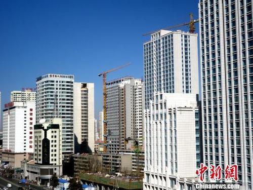 中国商品房销售面积年内首现同比上涨