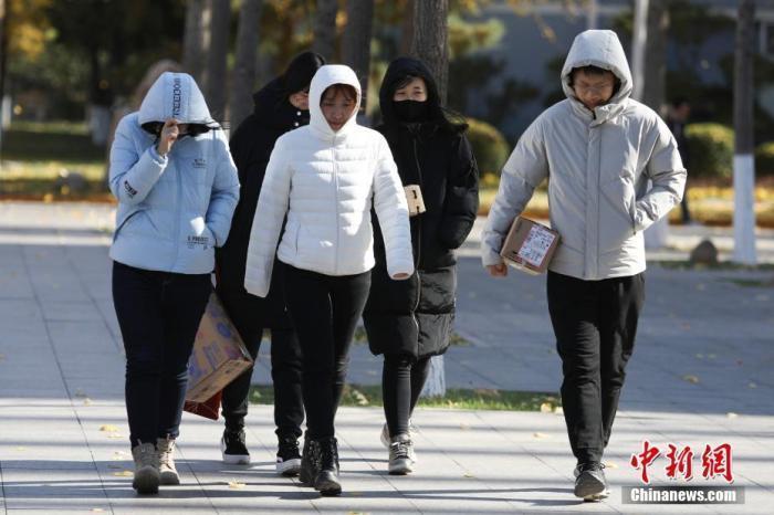 强冷空气影响中国中东部地区 东北地区有强降雪